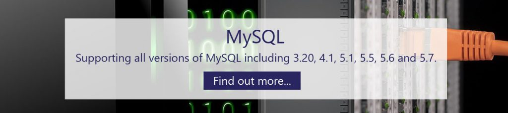 MySQL database implementation Sheffield